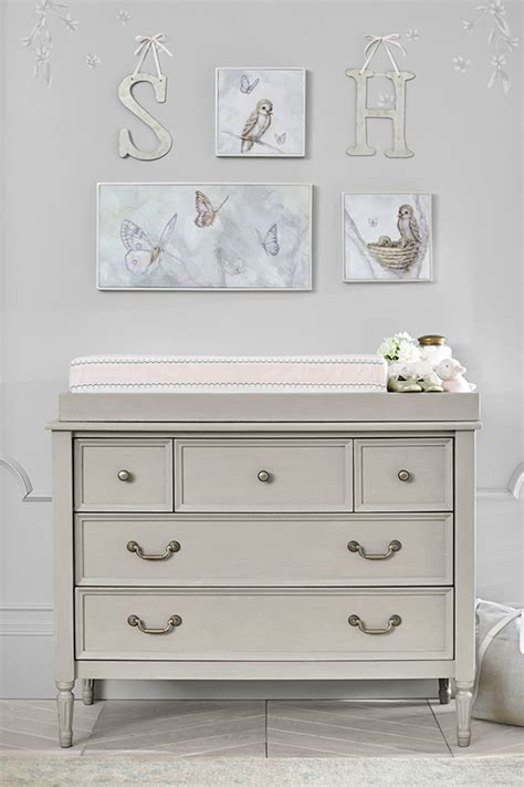 Pottery Barn Changing Table Blythe Dresser And Changing Table Topper By Pottery Barn