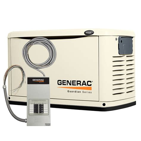 generac 8 000 watt automatic standby generator with 50