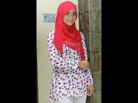 tutorial hijab segi empat citra kirana video cara pakai kerudung segi empat ala citra kirana