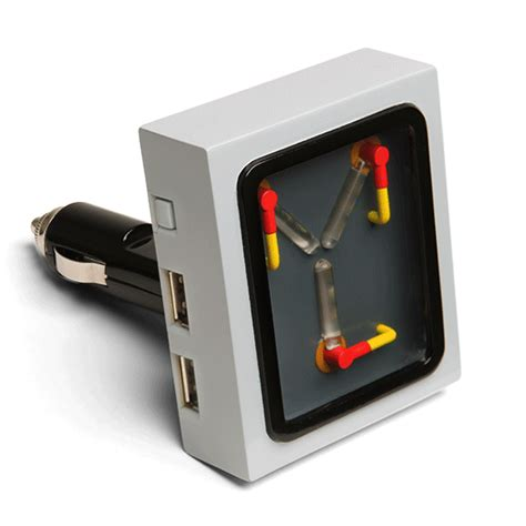 capacitor to battery charger flux capacitor usb car charger