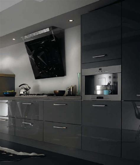 Individual Kitchen Cabinets by Kitchen Style Miri Anthracite From Fitted Kitchens