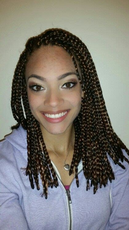 mixed box braids colors boxes and shorts on pinterest
