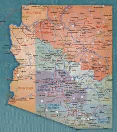 map of arizona that flighty temptress adventure