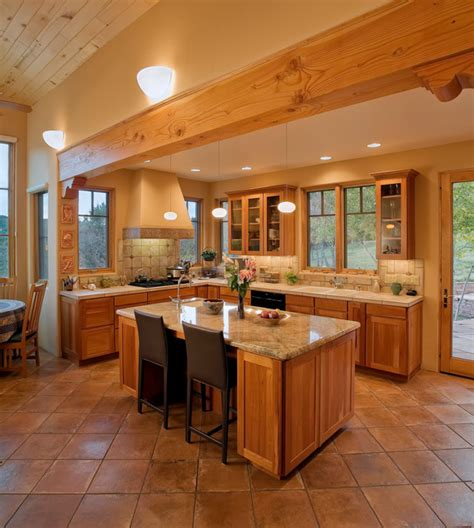 southwest kitchen designs modern southwest style home southwestern kitchen albuquerque by jon tuthill construction