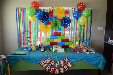 lego themed birthday decorations lego themed birthday sweetmelangeblog