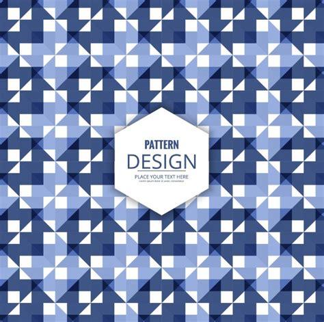 free pattern geometric ai blue geometric pattern vector free download