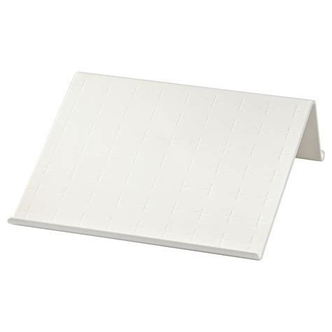 Laptop Desk Stand Ikea Isberget Tablet Stand White 25x25 Cm Ikea