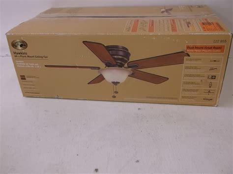 Hton Bay Hawkins Ceiling Fan by Hton Bay Hawkins 44 In Bronze Ceiling Fan With Light