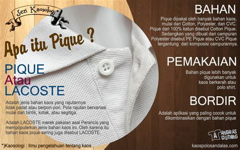 Polo Shirt Polos Kaos Polos Pique Cotton Pique kaos polos katun pique atau lacoste kelebihan dan