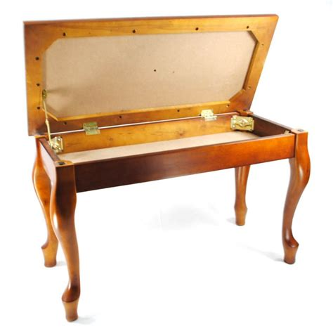 cherry piano bench frederick piano bench english duet french cherry satin ebay