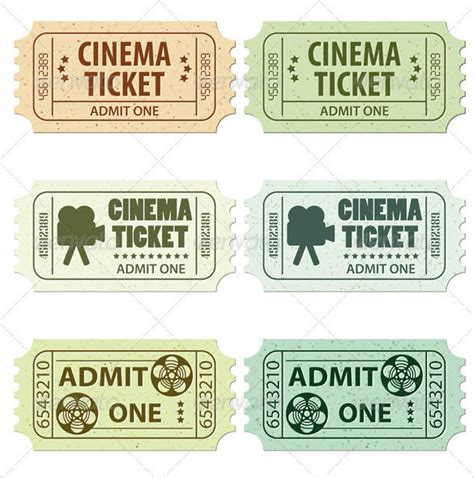 cinema ticket template word ticket template 91 free word excel pdf psd eps