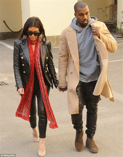 kanye west shows glimpse of his wedding ring but