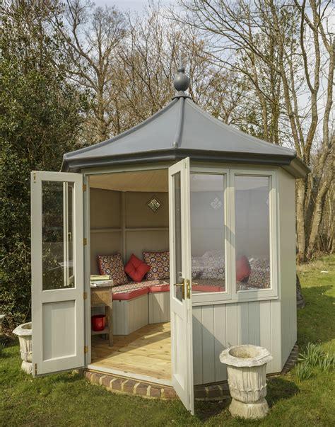 Garden Summerhouses Octagonal Summerhouse By Garden Affairs Painted
