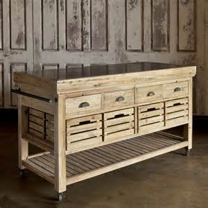 How To Build A Movable Kitchen Island Brown Wooden Move Able Kitchen Island With Silver Steel