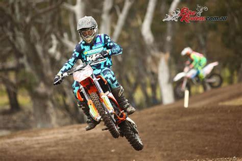 mini motocross racing 2018 ktm junior motocross racing team revealed bike review