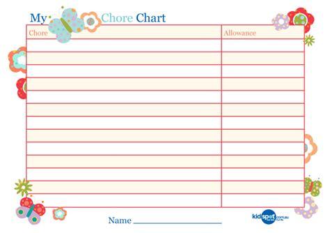 Basic Printable Reward Charts | download basic reward chart for girls for free formxls