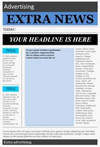 drive newspaper template wonderful free templates to create newspapers for your