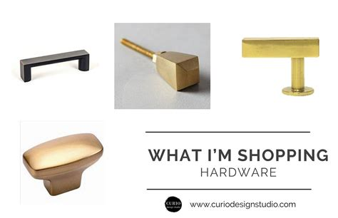 Cabinet And Furniture Hardware What I M Shopping Bathroom Hardware Curio Design Studio