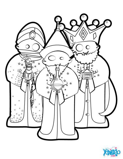 imagenes reyes magos para pintar dibujos de melchor gaspar y baltasar para colorear tres