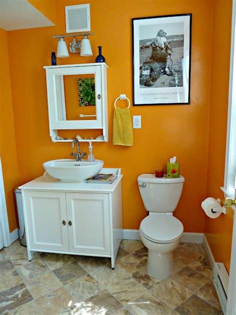 Orange Bathroom Decor by 17 Best Ideas About Orange Bathroom Decor On