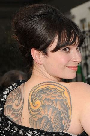 tattoo angel cast celebrity wings tattoos steal her style