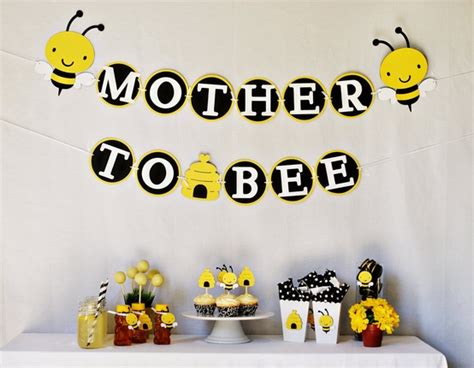Bee Themed Baby Shower by The Jungle Store To Quot Bee Quot Baby Shower Ideas