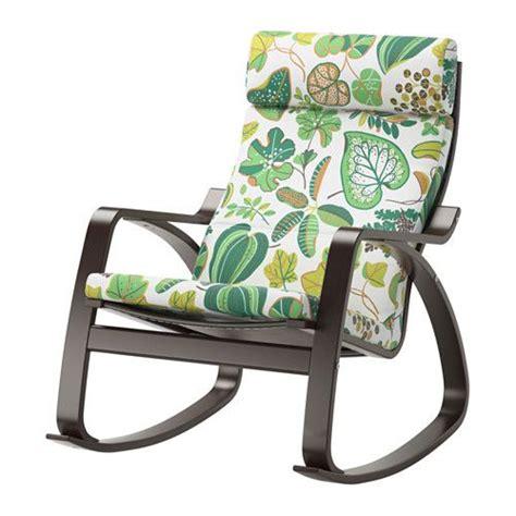ikea tuin fauteuil po 196 ng schommelstoel simmarp groen zwartbruin ikea