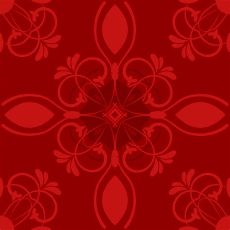 red pattern vector red flower vector pattern