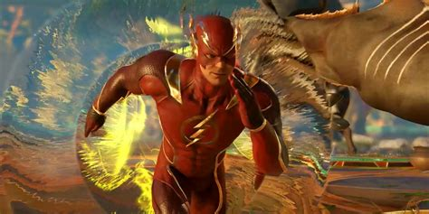The Flash 2 injustice 2 the flash gameplay trailer screen rant