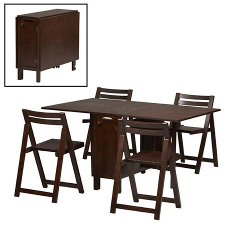 Space Saving Kitchen Tables And Chairs Superb Space Saving Dining Sets 4 Space Saver Table And Chairs Set Bloggerluv