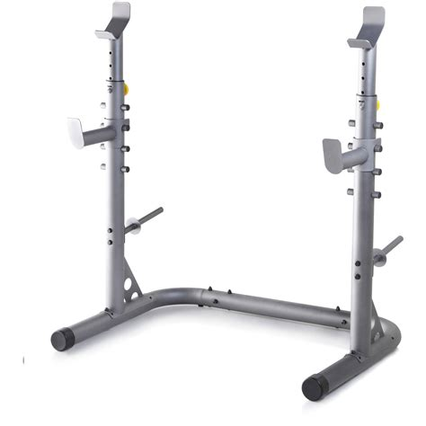 bench squat rack golds gym workout squat rack bench power weight stand