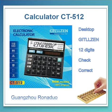 calculator cosmetic ct 512 calculator with backlight cosmetic calculator low