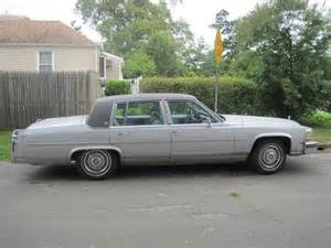 1987 Cadillac Fleetwood Purchase Used 1987 Cadillac Fleetwood Brougham No Reserve