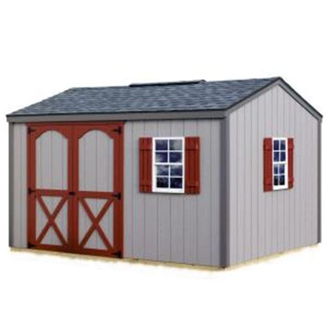 diy shed kit home depot best barns cypress 12 ft x 10 ft wood storage shed kit