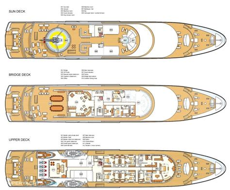 luxury yacht floor plans moonlight ii layout neorion shipyards syros
