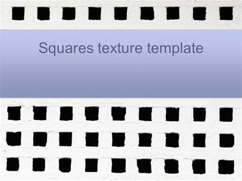 Squares Texture Powerpoint Template Squares Powerpoint Template
