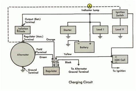 dodge ram 1984 1500 alternator wiring diagram dodge v8