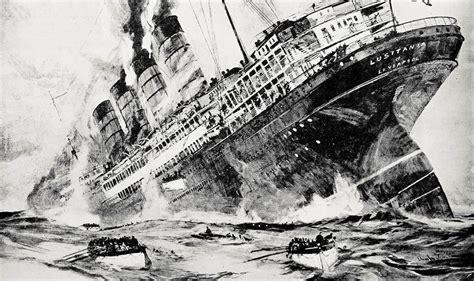 sinking of the lusitania the treasury sinking of lusitania
