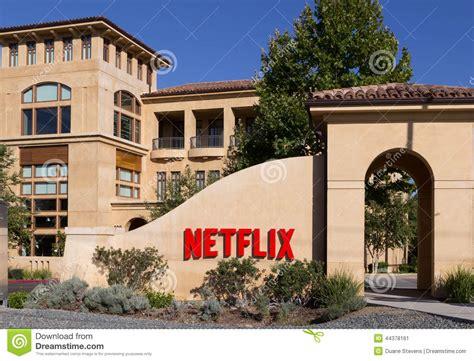 Netflix Corporate Office by Netflix Headquarters Los Gatos California Usa Editorial