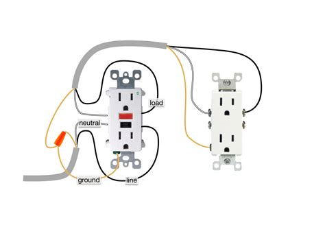 gfci light switch wiring diagram gfci just another