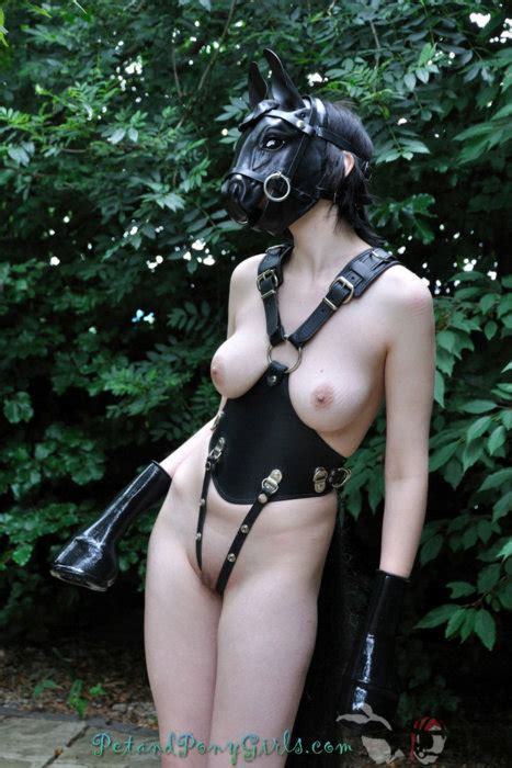 Bdsm Pony Play Girl Nude Cumception
