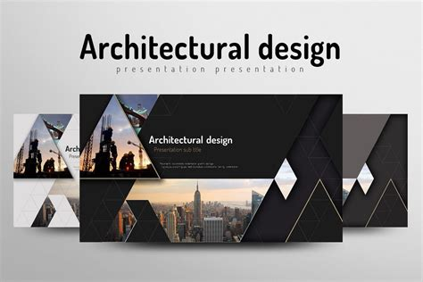Architecture Powerpoint Template By Goo Design Bundles Architectural Powerpoint Templates