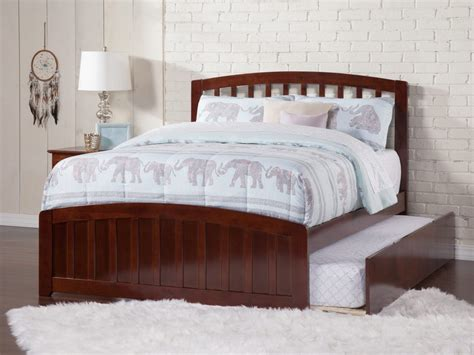 trundle bed without headboard richmond matching footboard trundle bed atlantic furniture