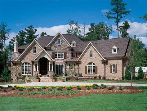 french country european house plans raised brick ranch front porch designs joy studio design