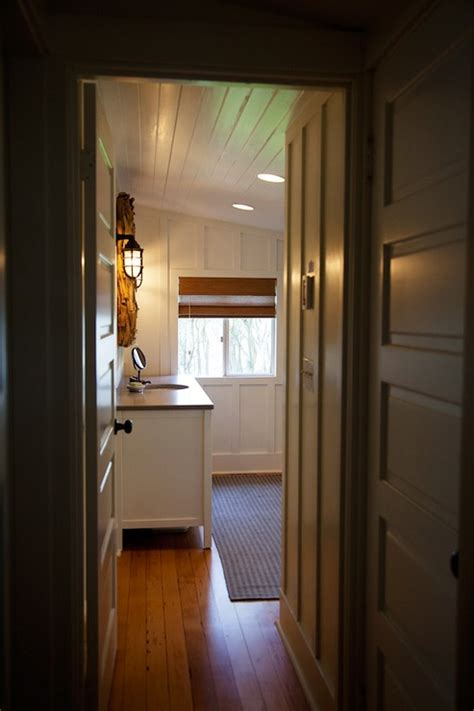 sloped ceiling bathroom cottage bathroom benjamin