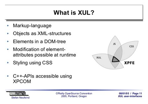 xpcom tutorial javascript xul the future of user interfaces on the web