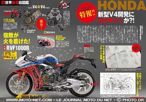 Honda V4 Superbike 2020 by Nouveaut 233 S Honda Rvf1000 La Future Moto Superbike 224