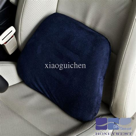 Lumbar Pillow Car by Memory Foam Car Pillow Lumbar Waist Support Pillow