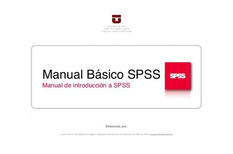 manual for spss manual basico spss
