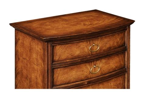 Small Chest With Drawers by Small Chest Of Drawers In Crotch Walnut With Four Storage